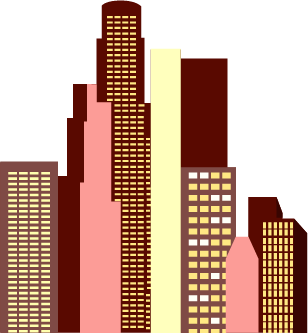 cityscape buildings
